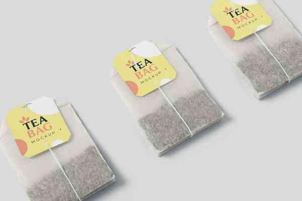 $ Tea Bag Mockups