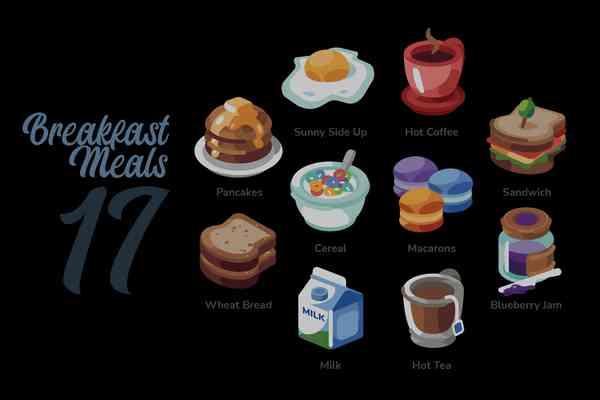 $ Breakfast Meals