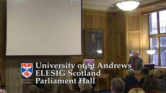 ELESIG 2015 Introduction and Margaret Adamson talk