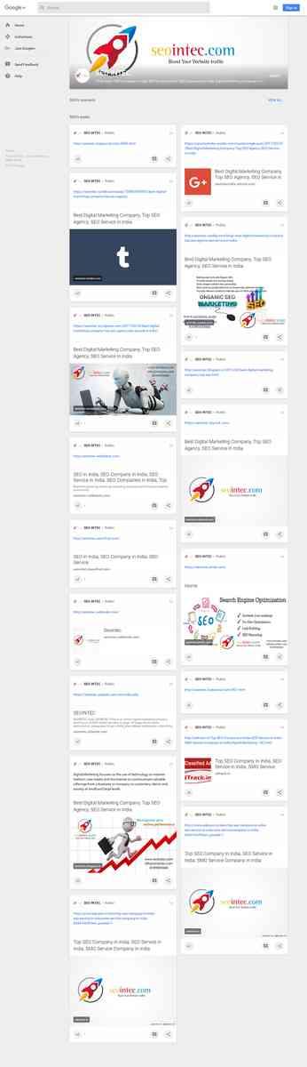 Best Google Local SEO Service Company in India - SEOINTEC