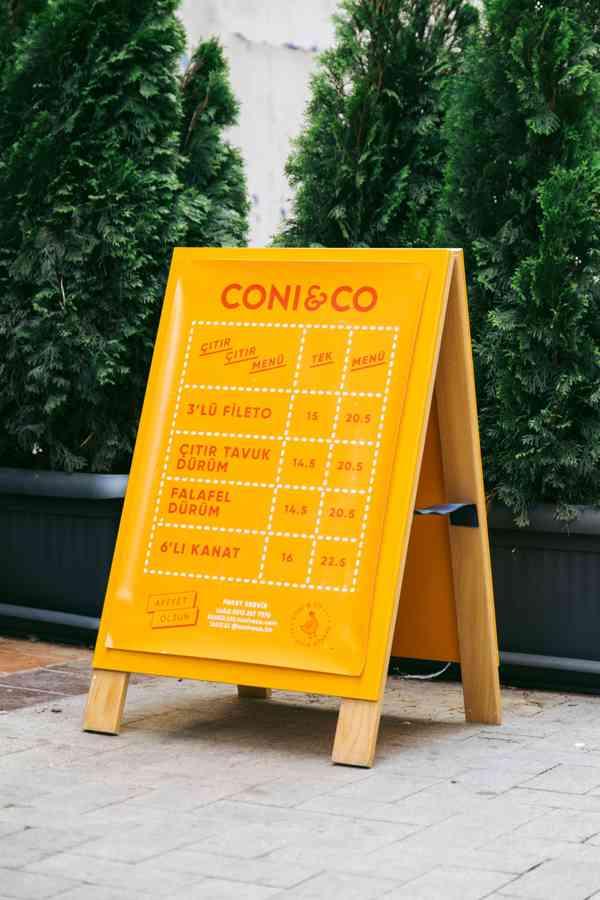 Coni&Co | A-stand