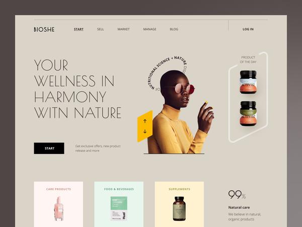 Bioshe Website