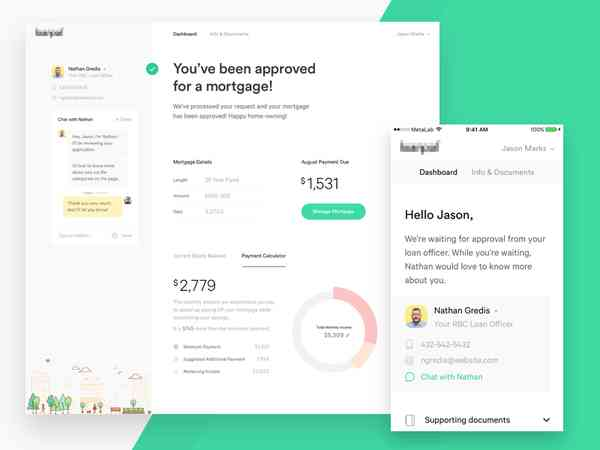 You get a mortgage, and you get a mortgage! by Ryan Johnson - Dribbble