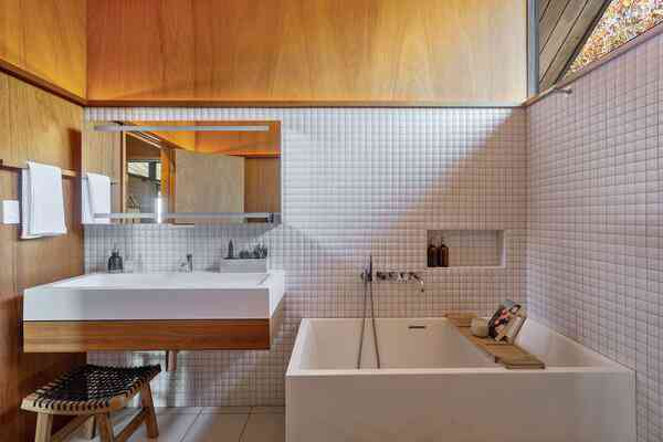 wood and tile