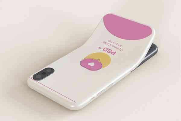 $ Smartphone Case Mockup