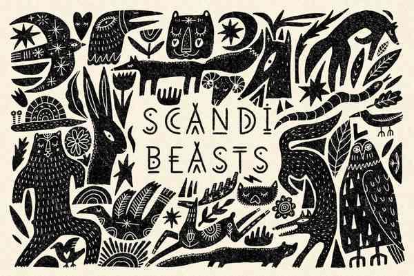 Scandi Beasts Bundle