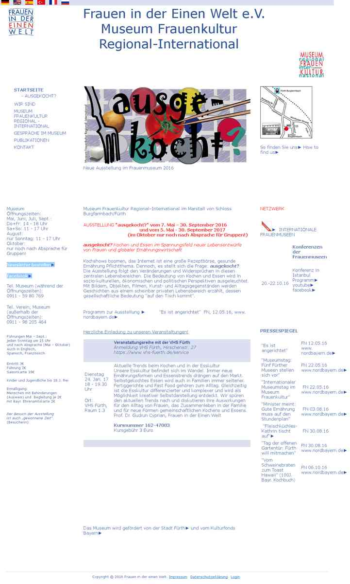 Museum Frauenkultur Regional – International