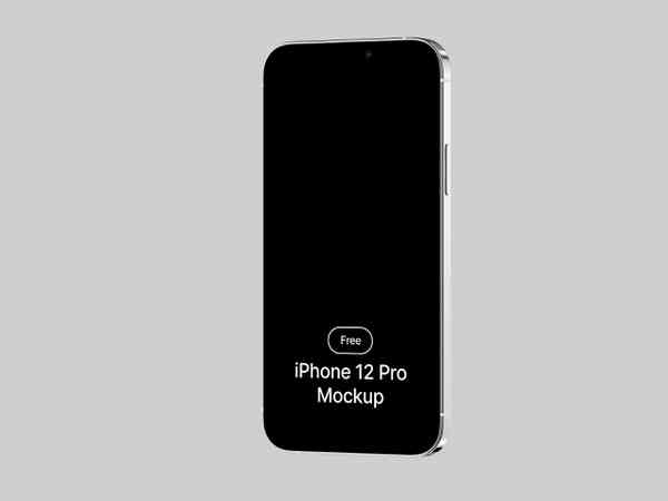 Five iPhone 12 Pro Mockups