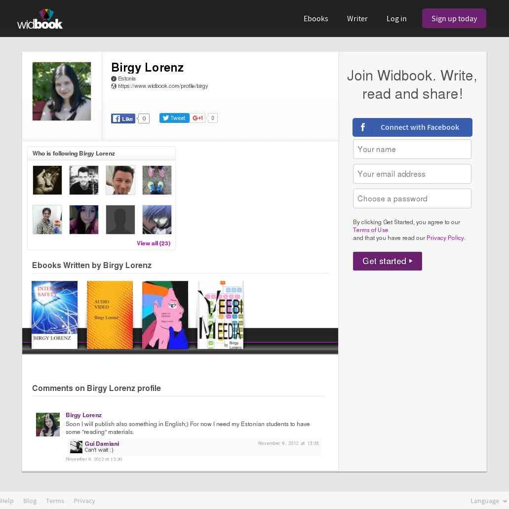 Birgy Lorenz | Widbook