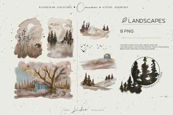$ Autumn Landscapes