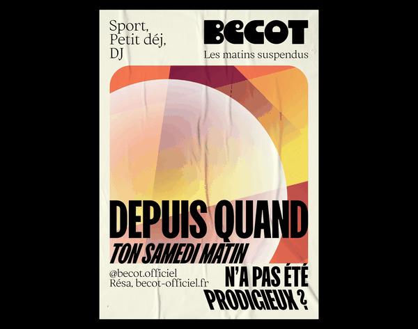 Bécot | Poster
