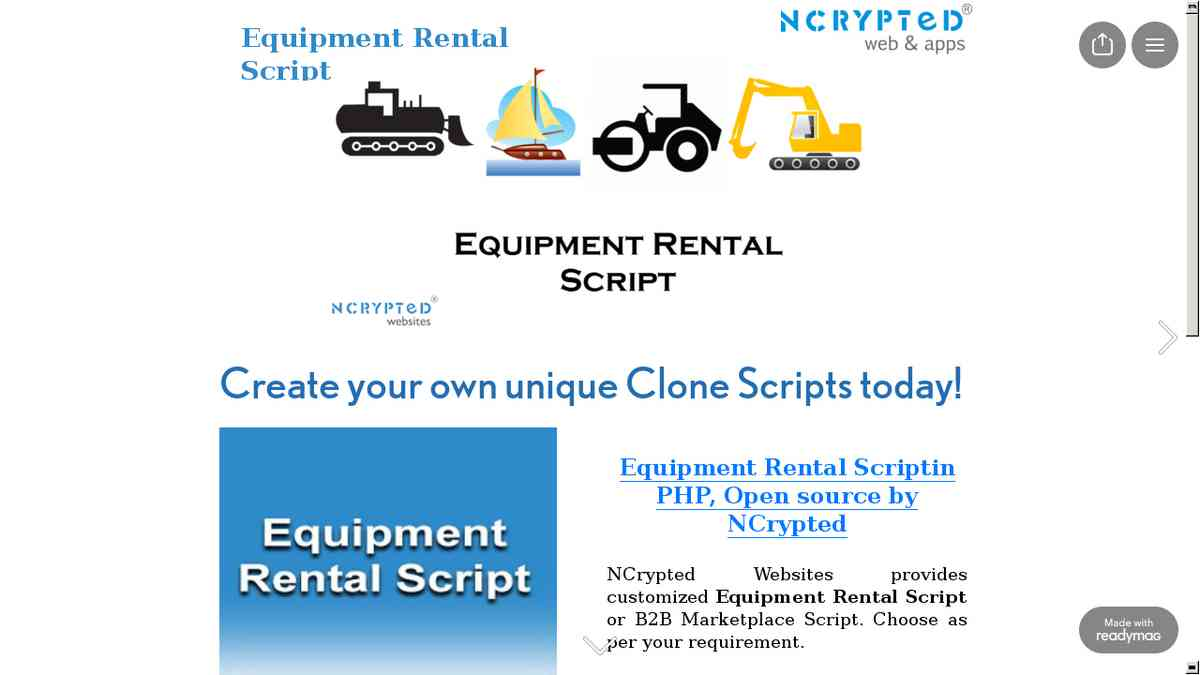 readymag.com/NCryptedWebsites/Equipment-Rental-Script/