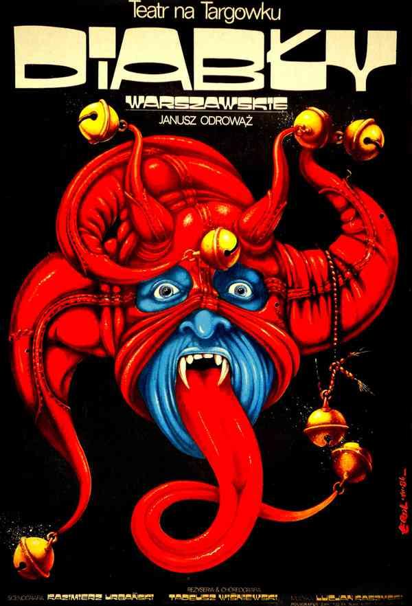 Diabły Warszawskie theater poster
