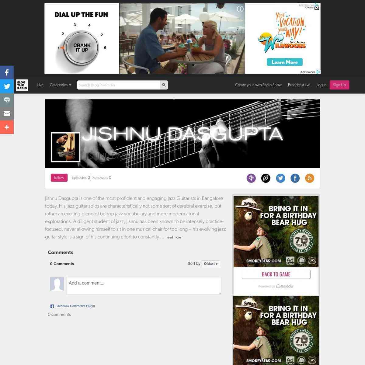 https://www.blogtalkradio.com/jishnu-dasgupta