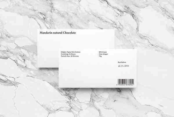 Mandarin natural Chocolate – Visual Journal