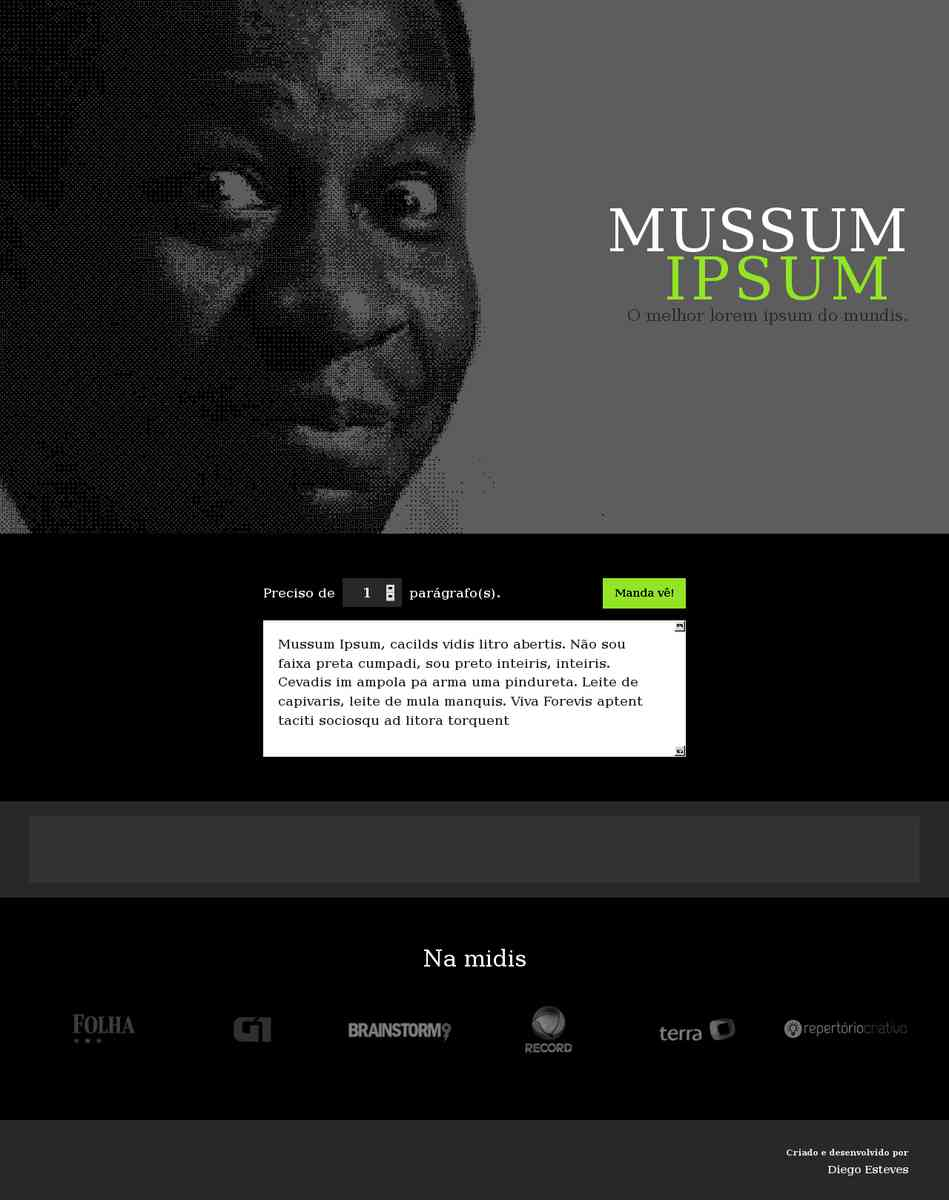 Mussum Ipsum
