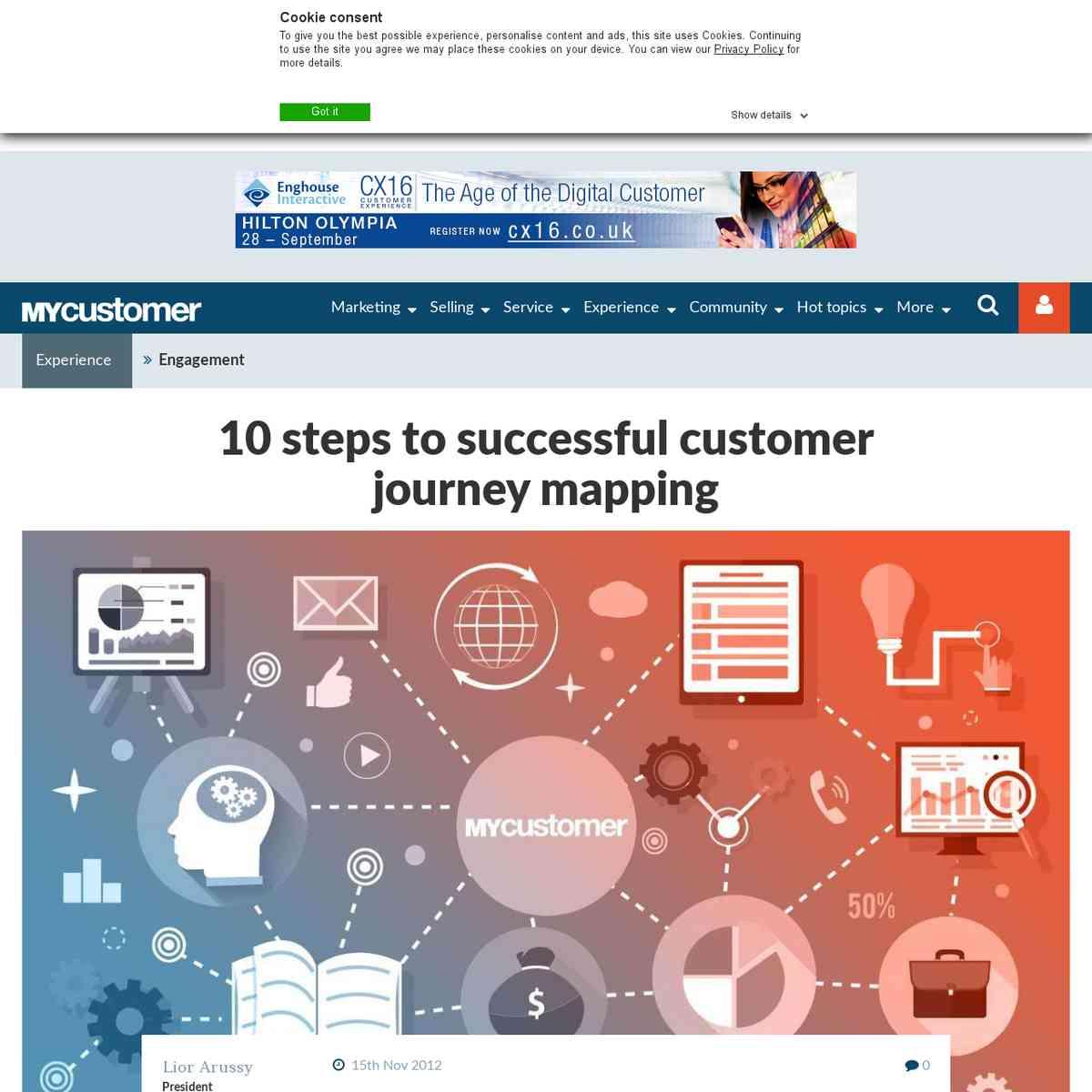 10 steps to successful CJM