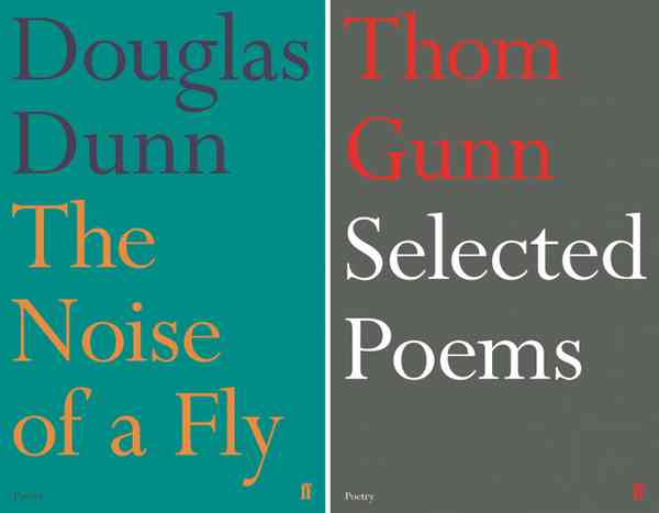 Faber Poetry titles - Fonts In Use