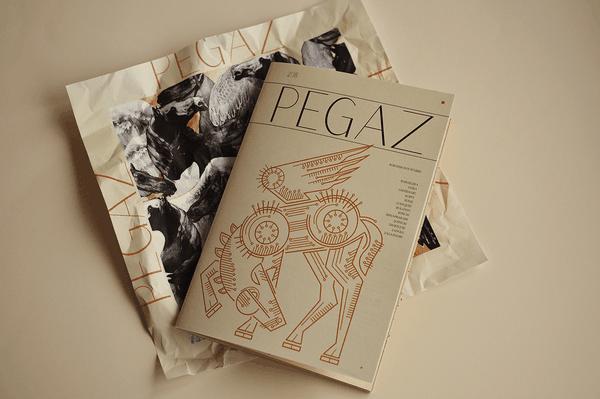 P E G A Z   Editorial design