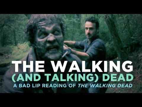 """""""The Walking (And Talking) Dead"""""""