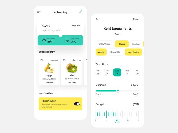 App UI   Schedule