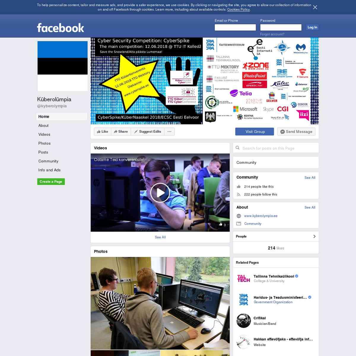 Küberolümpia projekt