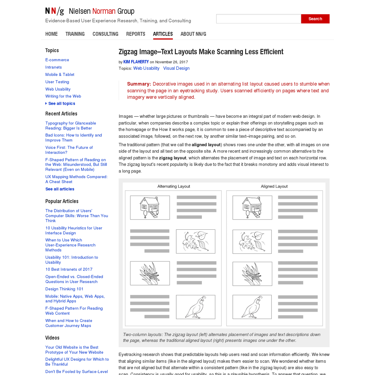 nngroup.com/articles/zigzag-page-layout/