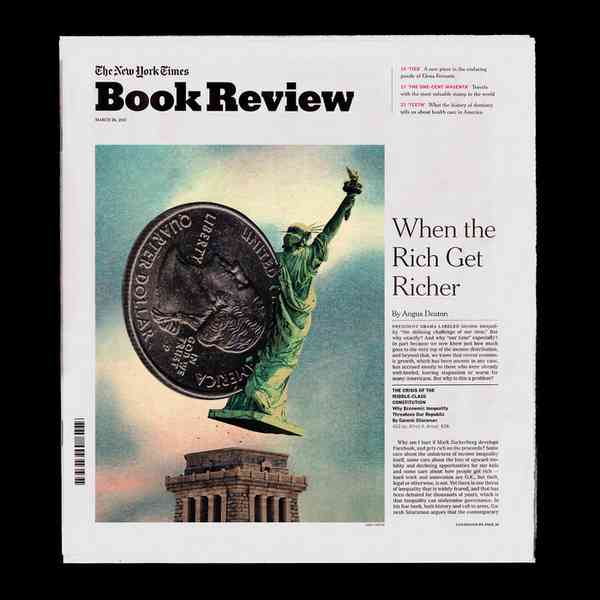 The New York Times Book Review, March 26, 2017 - Fonts In Use