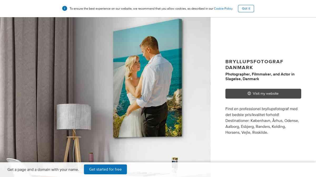 Bryllupsfoto DK