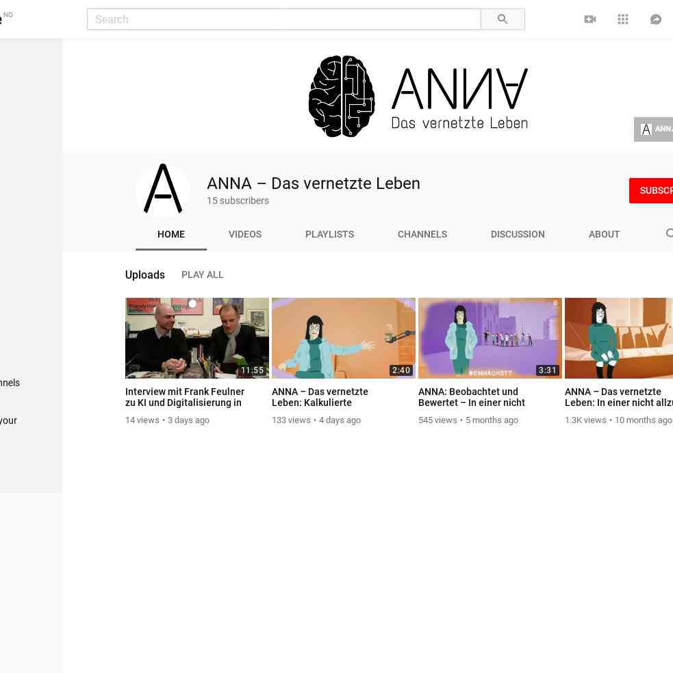 ANNA – Das vernetzte Leben - YouTube