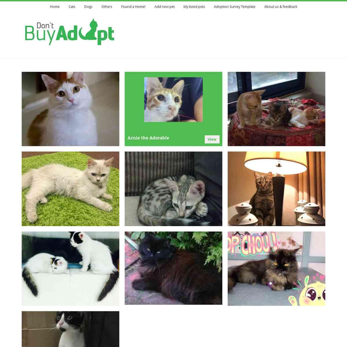 Don't Buy! Adopt!