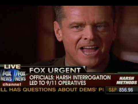 Shepard Smith vs. Jack Nicholson on Torture