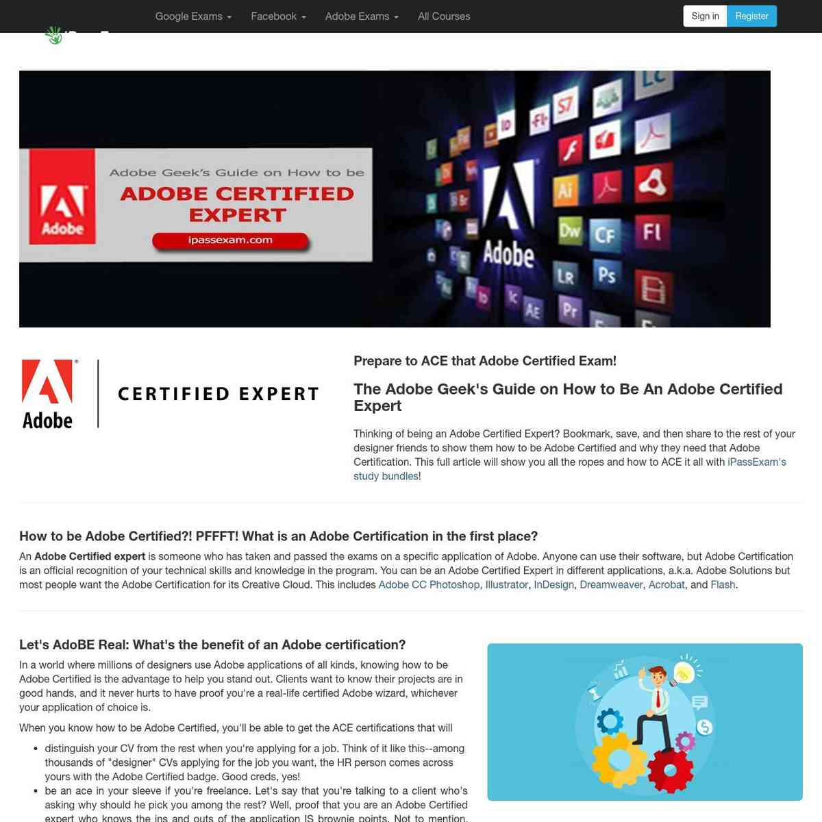 How to Be An Adobe Certified Expert