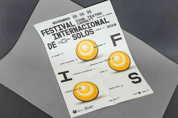 FIS 2018 International Solo Festival | Poster
