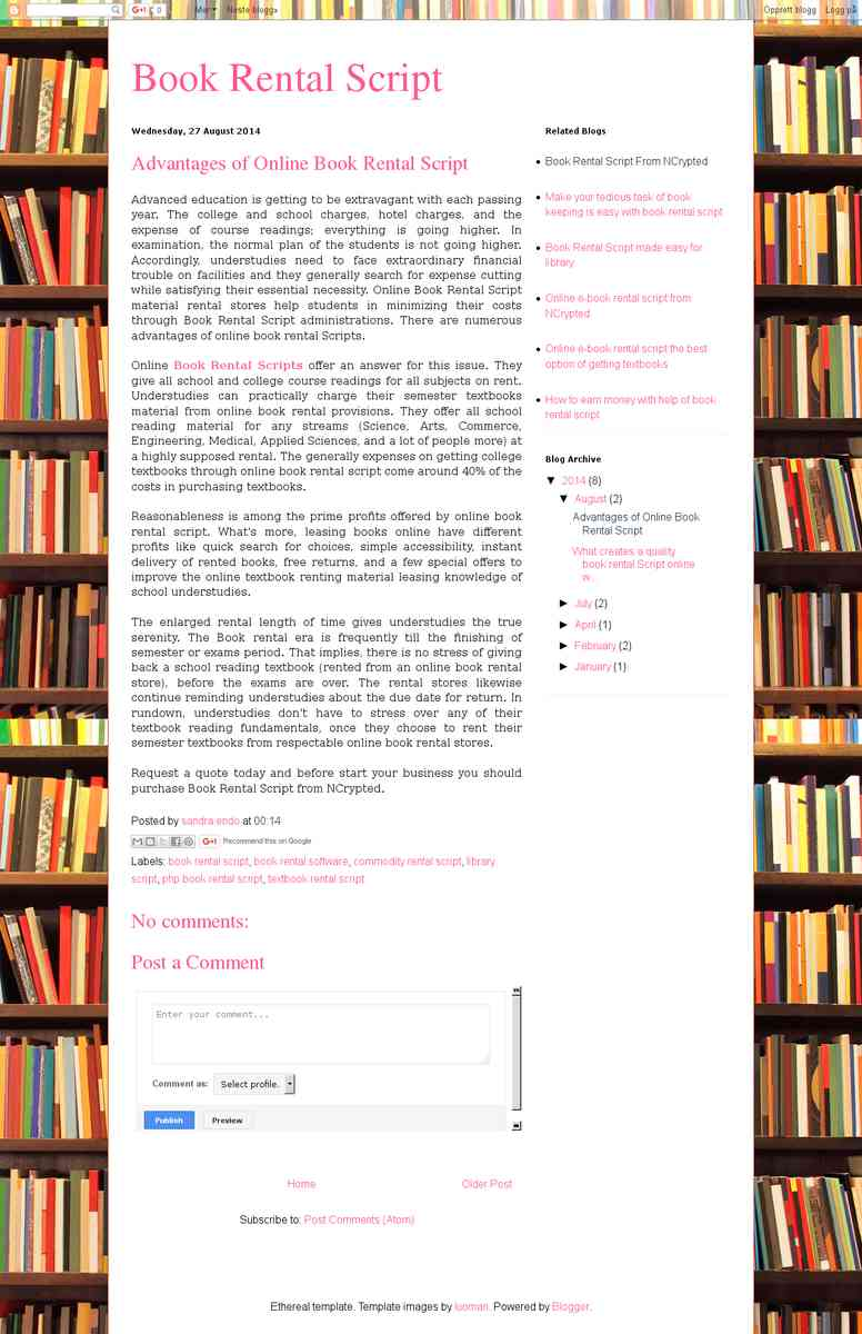 bookrentalscript.blogspot.in/2014/08/advantages-of-online-book-rental-script.html