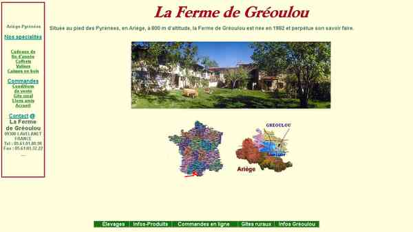 La Ferme de Gréoulou : Produits fermiers d'Ariège-Pyrénées