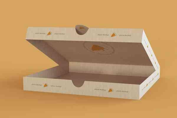 $ Large Pizza Box Mockup