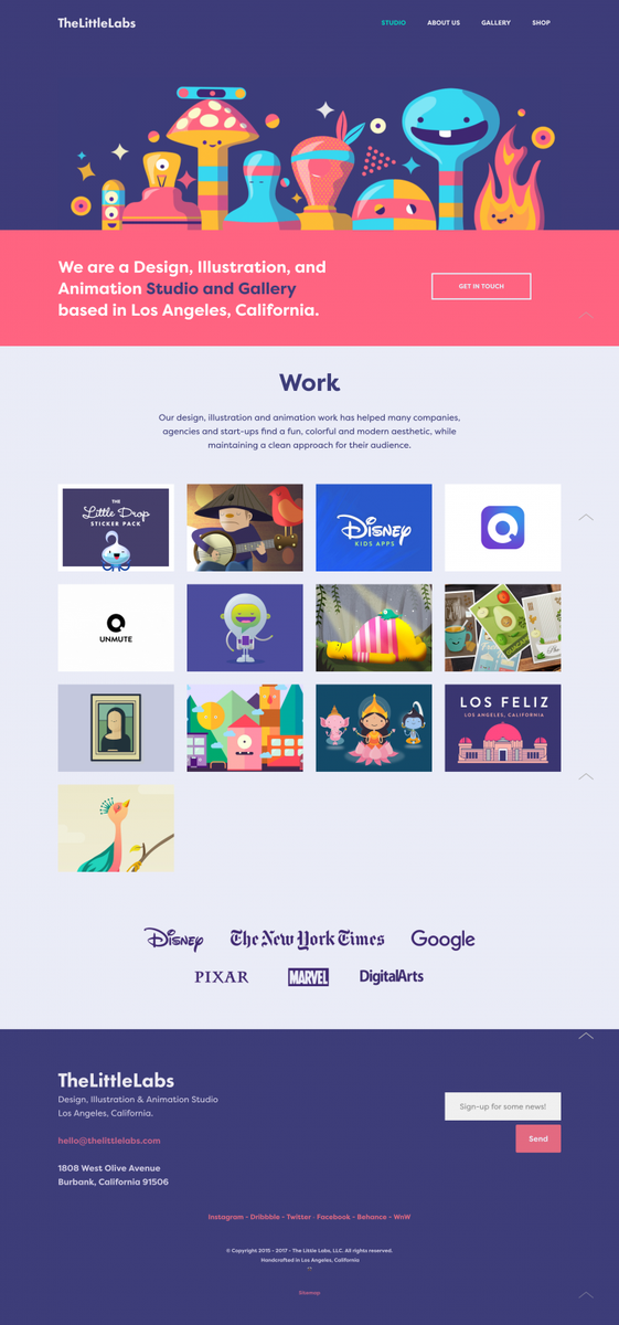 The Little Labs - Design, Illustration and Animation fromLos Angeles, California