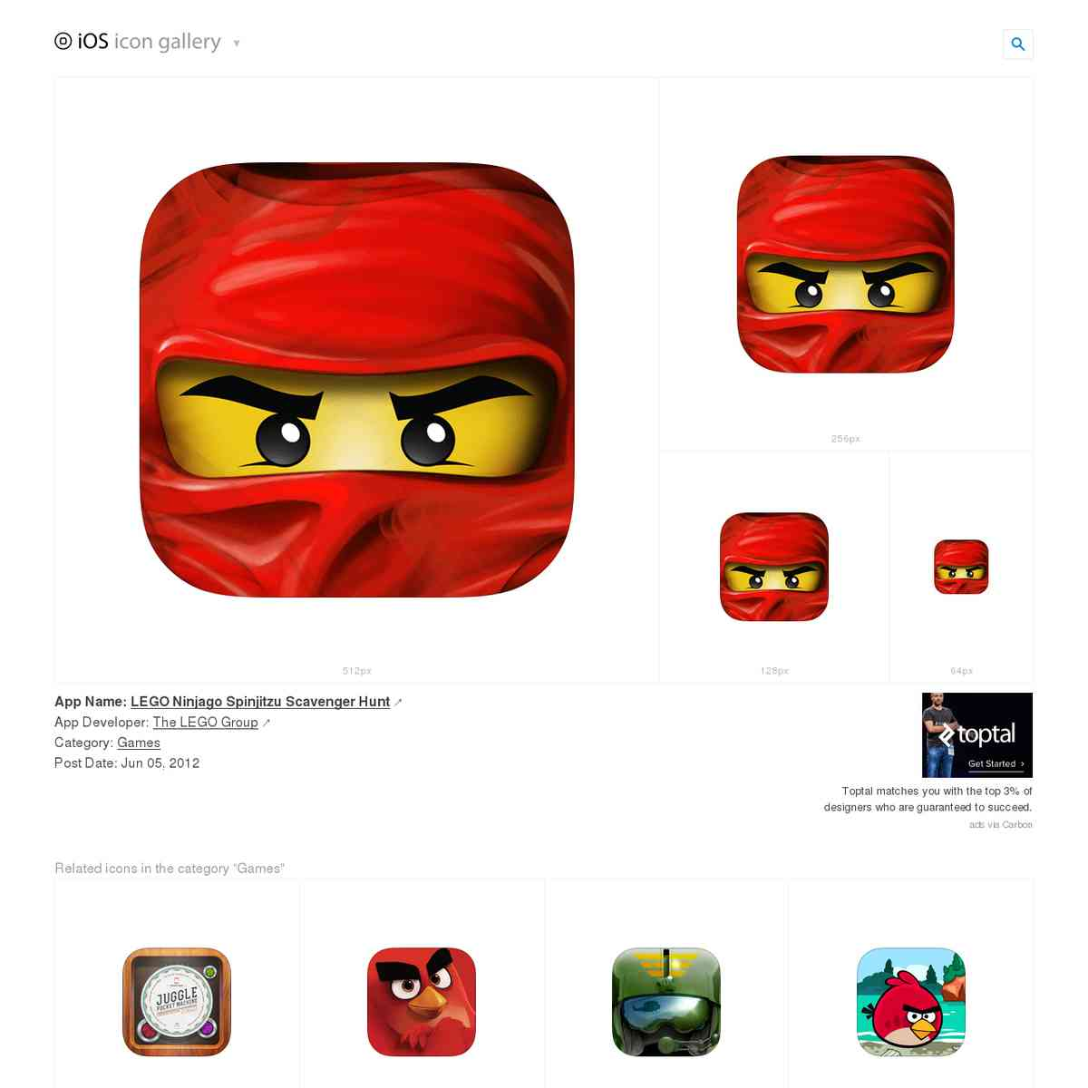 iosicongallery.com/games/lego-ninjago-spinjitzu-scavenger-hunt/