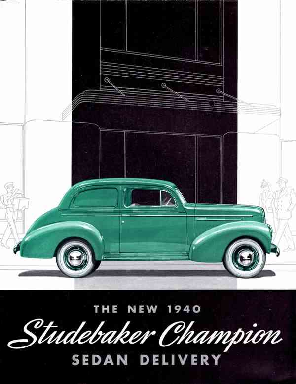 1940 Studebaker Champion Sedan Delivery | Alden Jewell | Flickr