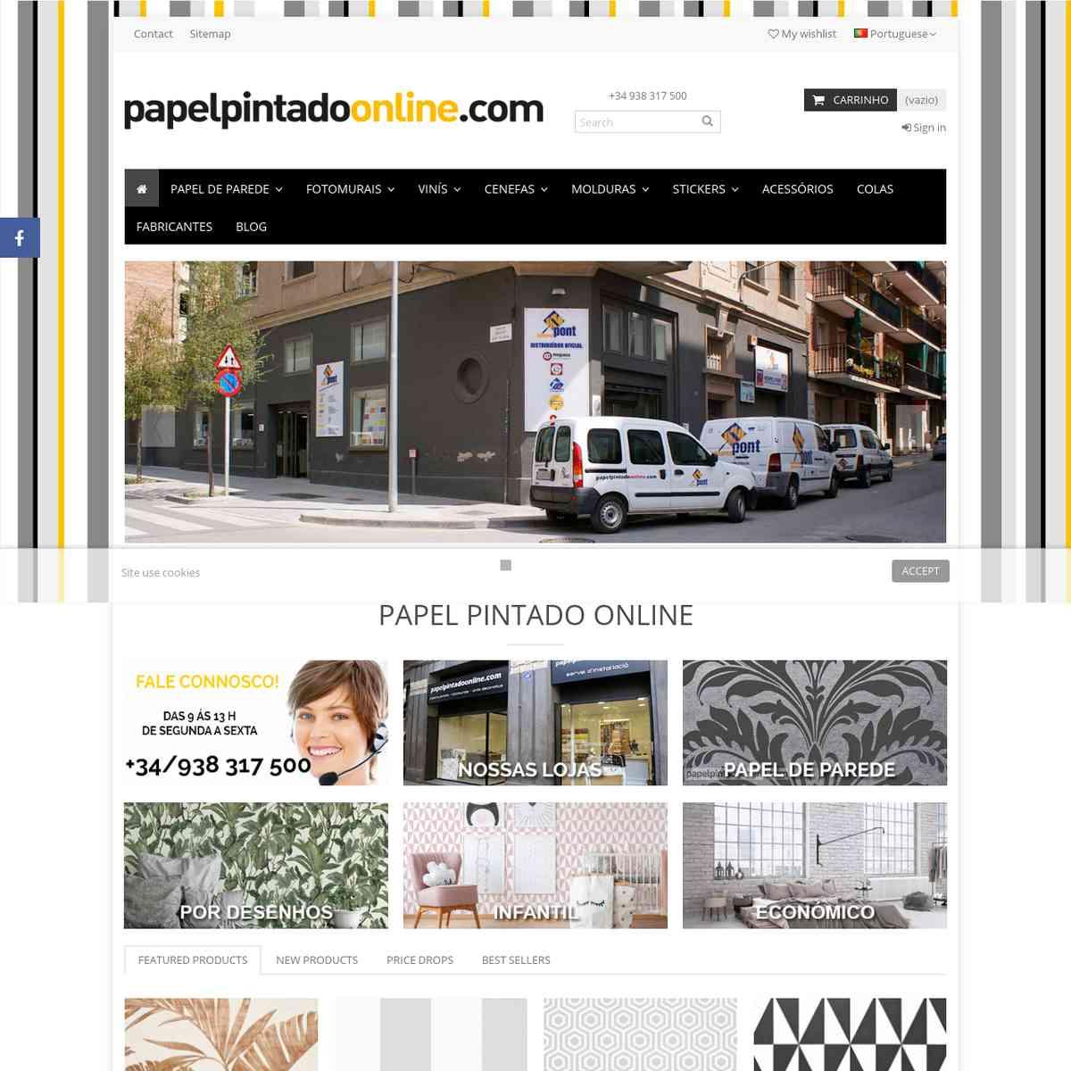 Papel Pintado Online en Portugal