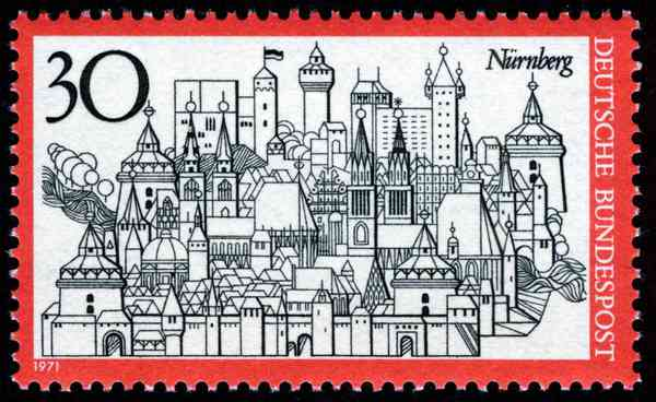 Nürnberg, 1971 by Heinz Schilinger