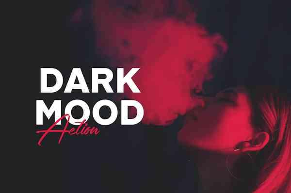 Dark Mood Photoshop Action