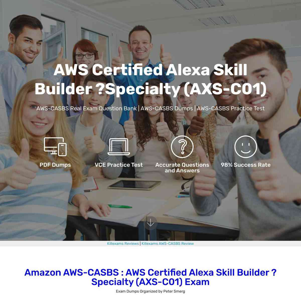 Just Download AWS-CASBS Questions and Answers and Practice real questions