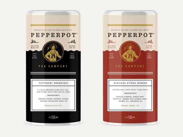 Pepperpot Tea Tin Can