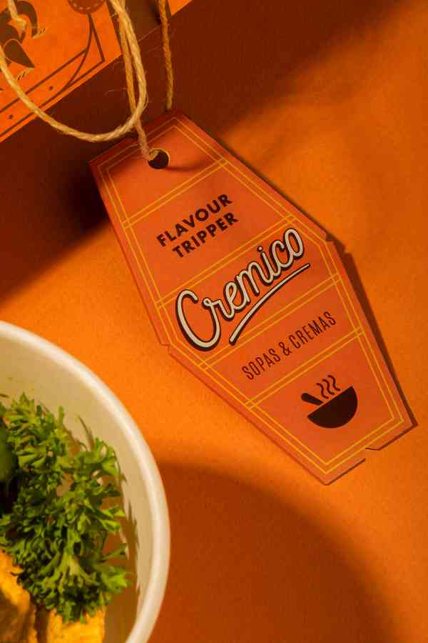 CREMICO. Flavour Tripper   Label