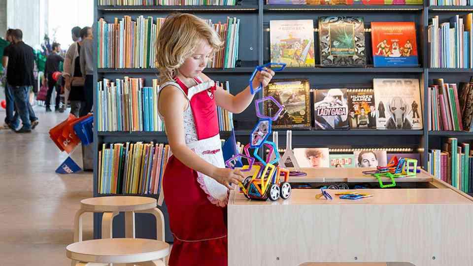 Bibliothek der Zukunft - Wie überleben Bibliotheken die Digitalisierung? - Kultur - SRF