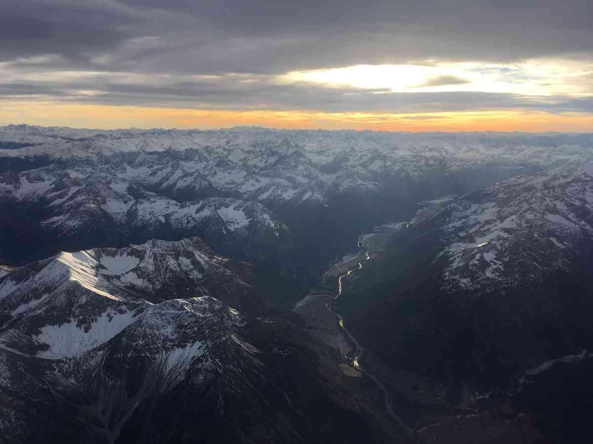 1. London to Feldkirch via Innsbruck