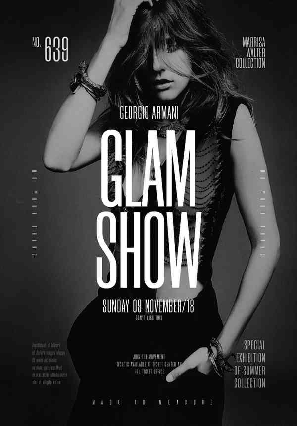 Glam Show event