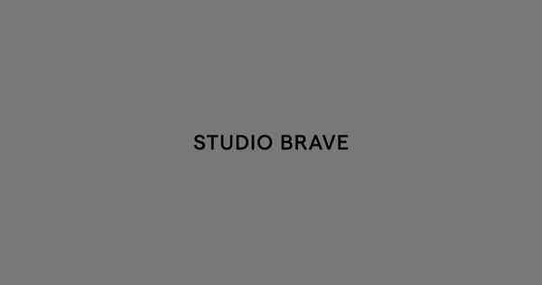 Studio Brave – Building brands of influence. A branding and design studio based in Melbourne.